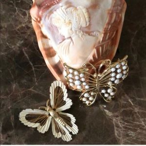 Vintage Butterfly Brooches.